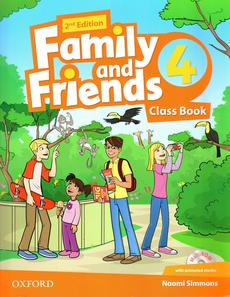Family and friends 1 class book ответы